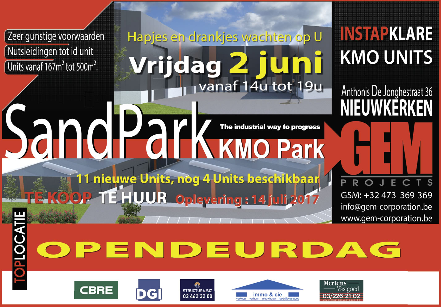 Opendeur Sandpark Nieuwkerken