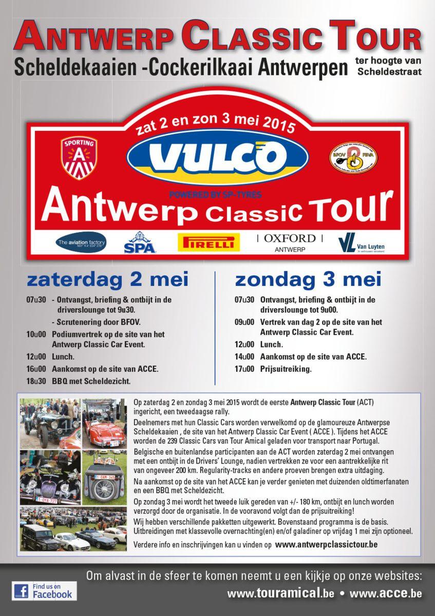 Antwerp Classic Tour 2-3 mei 2015