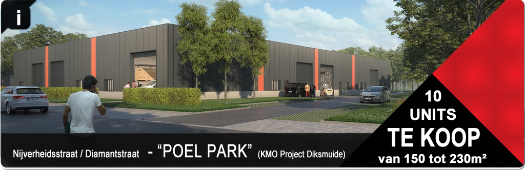Project KMO Units - Poel park - Diksmuide