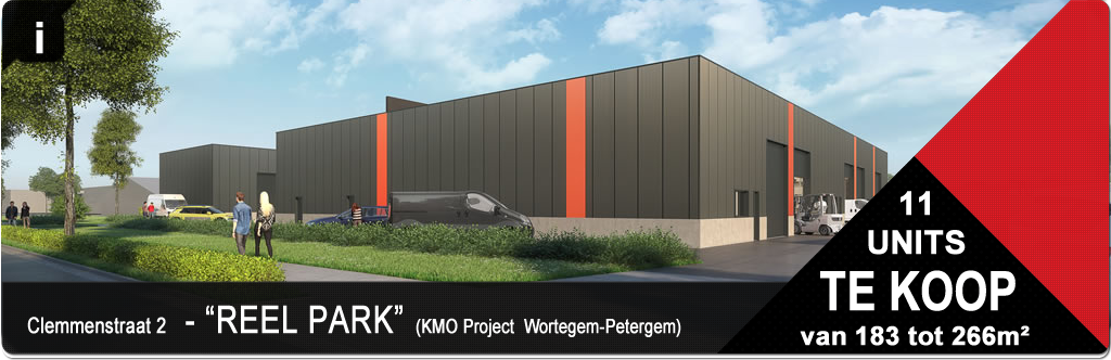Project KMO Units - Poel park - Wortegem-Petegem